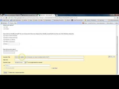 How to create an online survey for free in Google Drive