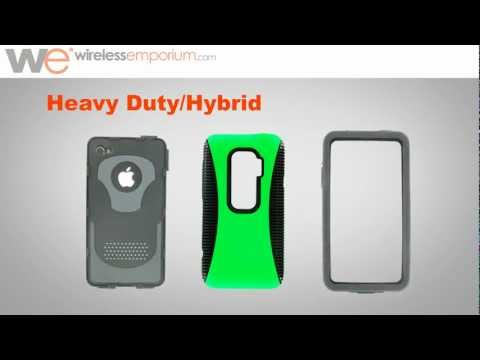 Cell Phone Cases: Heavy Duty/Hybrid Cases for Cell Phones