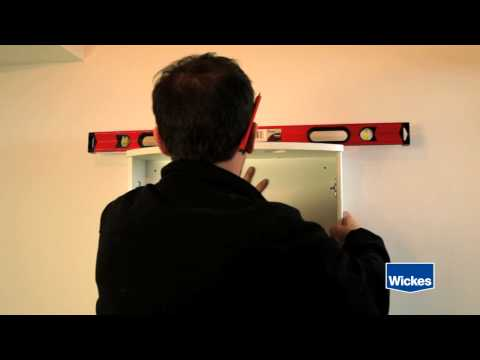 How to Hang a Bathroom Cabinet with Wickes