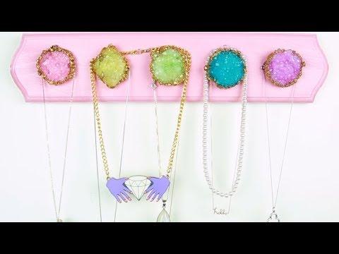 Geode Jewelry Hanger