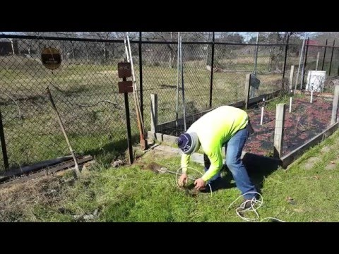 how to fix cut phone cable line in yard