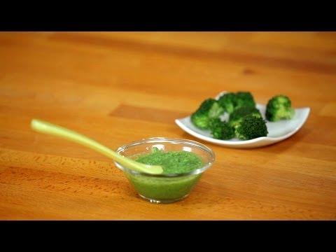 How to Make Broccoli Puree for Babies | Baby Food