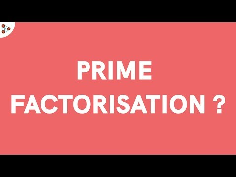 What is Prime Factorisation?