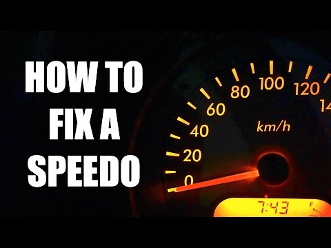 How To Fix A Misreading Speedometer
