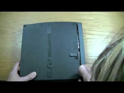 PS3 Slim Hard Drive Change to 500Gb
