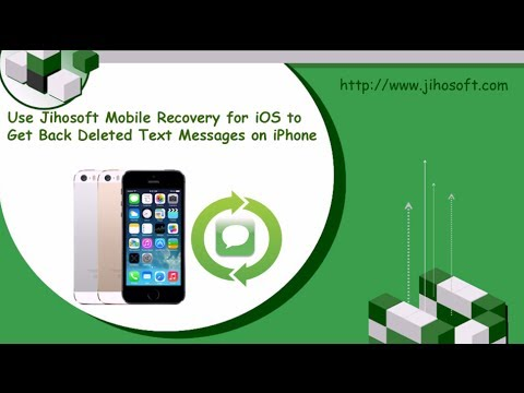 How to Recover Deleted Text Messages from iPhone SE, 6S, 6S Plus, 6, 6 Plus, 5S, 5