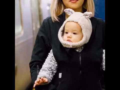 How to keep warm while pregnant or carrying your baby in a baby carrier. www.bmenyc.com