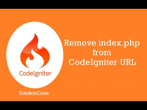 How to remove index.php from url in CodeIgniter 3