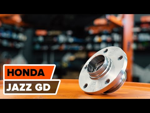 How to replace a Rear wheel bearing on HONDA JAZZ GD TUTORIAL | AUTODOC