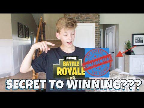 SECRET to WINNING Fortnite!?! Will it work?