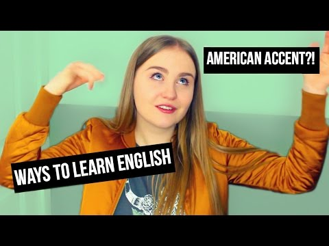 THE STORY OF HOW I GOT AN AMERICAN ACCENT | Learn English