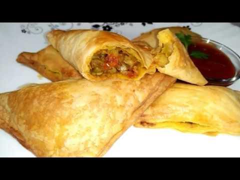 वेज पेटीज की रेसिपि   Veg Patties Recipe in Hindi   Aloo Puff Recipe