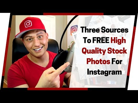 Where to Find Free Stock Photos You Can Use on Instagram