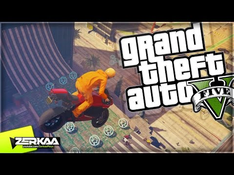 INSANE HALF PIPE WITH BUILDINGS | GTA 5 Funny Moments | E433 (with The Sidemen) (GTA 5 Xbox One)