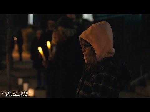 #BlackLivesMatter Candle-light Vigil in Washington DC