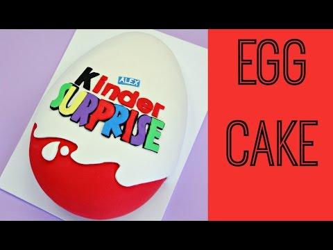 Giant Kinder Surprise Cake - CAKE STYLE