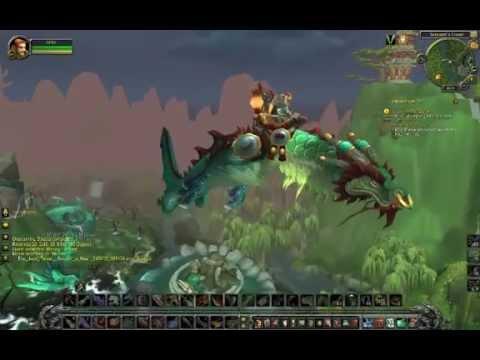World of Warcraft: Mists of Pandaria Beta: Possible Flight Mount?