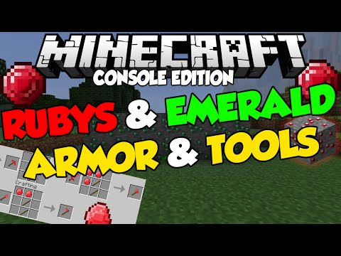 Minecraft [CONSOLE] EXCLUSIVE FEATURES - Rubys & Emerald Armor (Speculation)