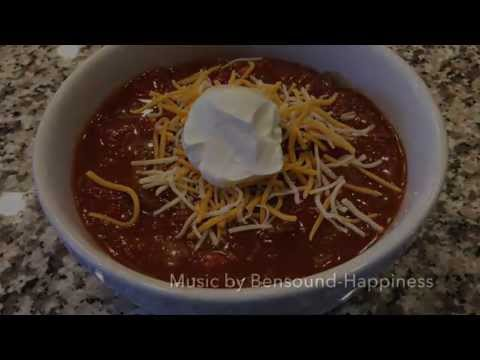 How to make a tasty and easy pot of chili