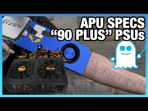 HW News: Scam PSUs, 2400G Price & Specs, HDD Reliability