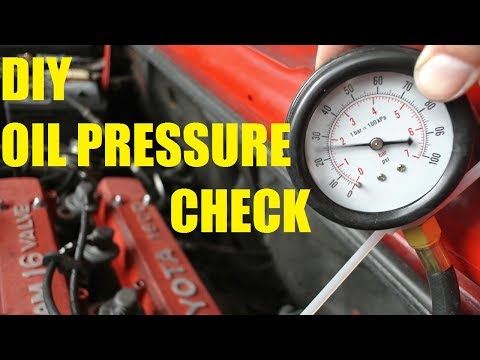 How to check your oil pressure