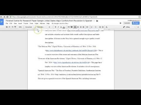 Fixing Hanging Indents in Works Cited Google Docs