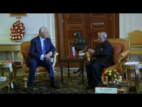 Prime Minister of Malaysia call on the President - 01-04-17