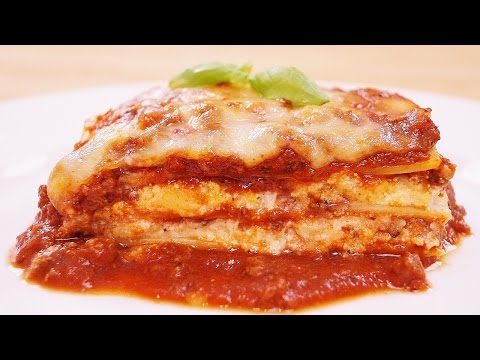 Lasagna Recipe: How To Make: Beef and Cheese Lasagna: Diane Kometa: Dishin With Di # 163