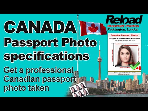 Canadian Passport Photo specifications and Visa Photos for Canada Snapped in London, Paddington