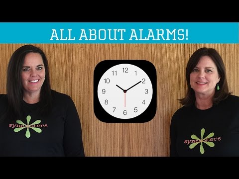 All about Alarms!  iPhone / iPad