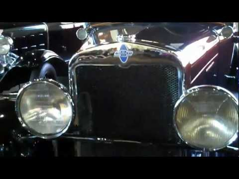 Antique Car Museum at Grovewood Village in Asheville, NC