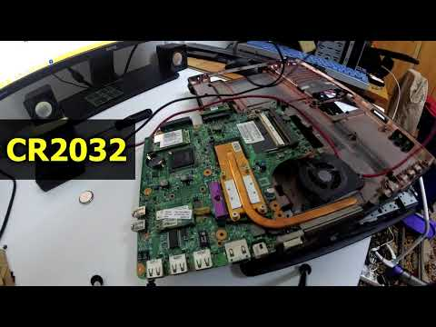Laptop not keeping Time & Date (HP 550 CMOS battery replacement)