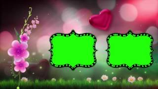 Ganesh Background Video Wedding,Free Wedding Frame Green