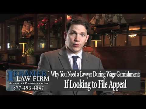 Orlando Bankruptcy Lawyer - I've Been Sued - Can My Wages Be Garnished?