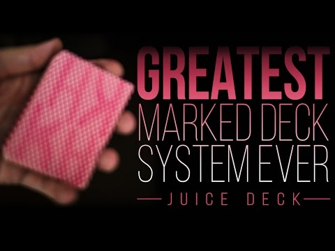 GREATEST Marked Deck System Ever Created [CHEAT in POKER and MAKE MONEY] –Juice Deck