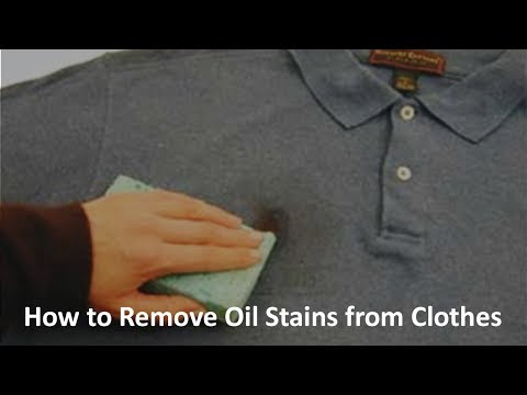 How to Remove Oil Stains from Clothes? | Zubaida Tariq