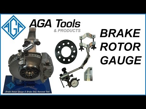 AGA Brake Rotor Gauge Kit