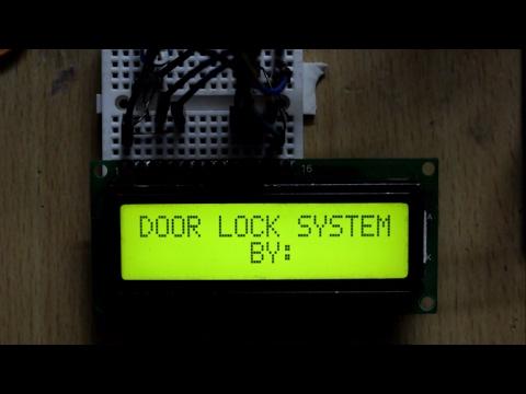 🎥PASSWORD BASED DOOR LOCKING SYSTEM KEYPAD LOCK WITH ARDUINO | ARDUINO | ARDUINO CODE FOR DOOR LOCK