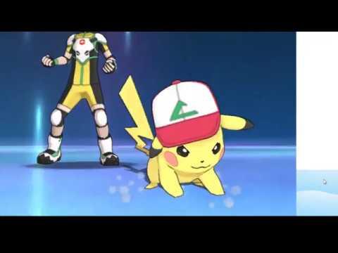 How to get Ash Original Cap Pikachu With Pikashunium Z