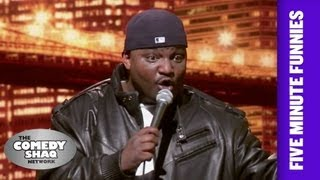 Aries Spears⎢White people do whatever they want⎢Shaq