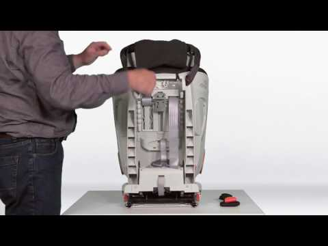 ADVANSAFIX III SICT – Installing the Seat ¦ Remove Harness