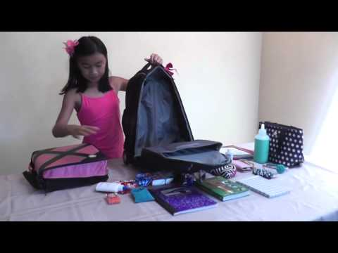 How To Organize A School Backpack