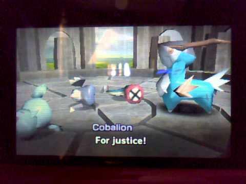 pokemon rumble blast walkthrough part 35 cobalion screws me