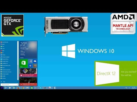 Windows 10  DirectX 11 VS DirectX 12 Comparison/60FPS