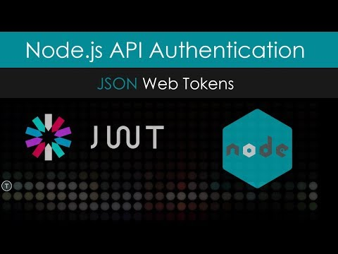 Node.js API Authentication With JWT