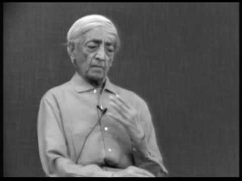 How am I to live in this world without becoming part of its cruelty? | J. Krishnamurti