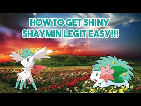 How to Get Shiny Shaymin LEGIT in Pokemon Diamond and Pearl
