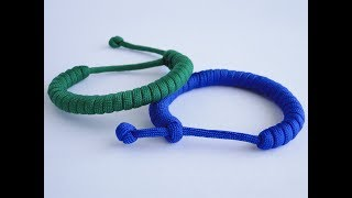 """How to Make a Simple """"Rastaclat Style"""" Quick Deploy Paracord Bracelet-Single Strand """"Mad Max Style"""""""
