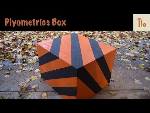 Build Your Own:  3-in-1 Plyometrics Box