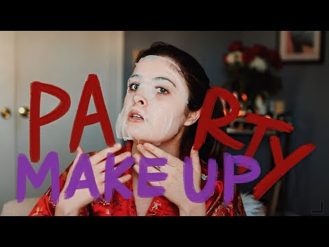COLLEGE PARTY MAKEUP | get ready with me